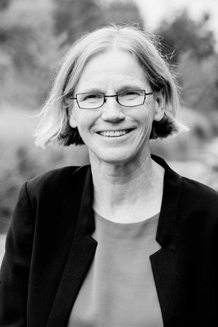 Marjolein Houweling, bewoner van de Gouden Leeuw. Beeld -