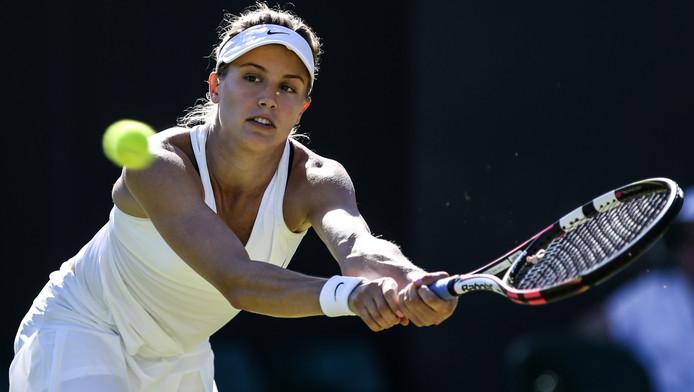 Eugenie Bouchard déjà éliminée à Wimbledon.