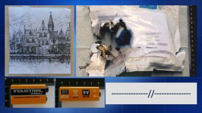 Afperser ondertekende Nederlandse bombrieven met streepjes