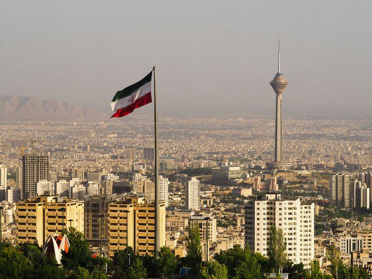 Een zicht op Teheran.
