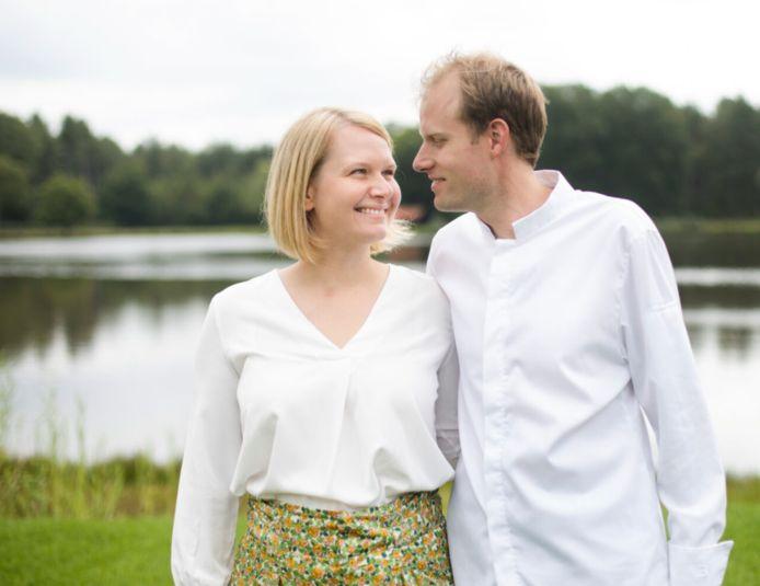 Chef Thijs en Lore zijn zeer blij met de erkenning.