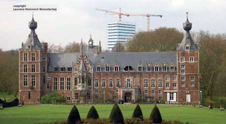 Kasteel Arenberg is één van de meest in het oog springende gebouwen in Leuven.