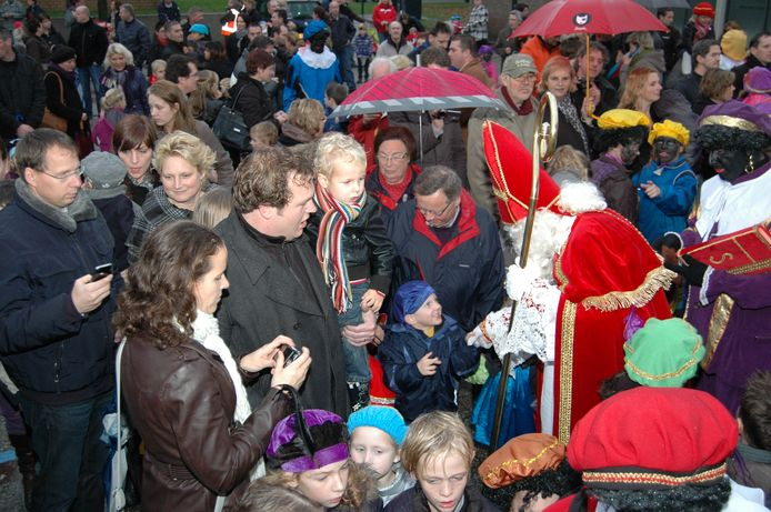 Sinterklaasintocht in Huissen in 2010.