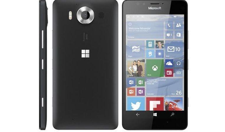 De Lumia 950 XL heeft een 5,7-inch scherm en een grotere batterij.