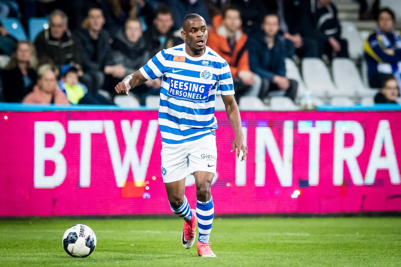 Elvio van Overbeek vertrekt na twee seizoenen bij De Graafschap.