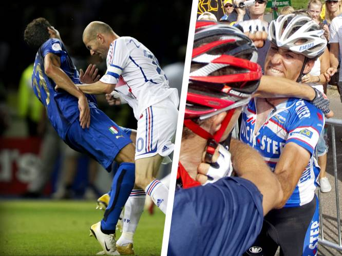 IN BEELD. Zlatan en Lukaku lang niet de enige sporters bij wie de stoppen al eens doorsloegen