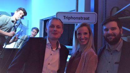 """Triphonstraat is nieuwe toegang tot bloeiende KMO-zone in Karnemelkpolder: """"Ons verhaal bewijst dat er nood was aan extra ruimte om te ondernemen in Zelzate"""""""