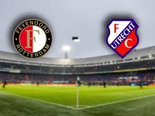 Feyenoord en FC Utrecht hebben in jacht naar 'boven' zege nodig