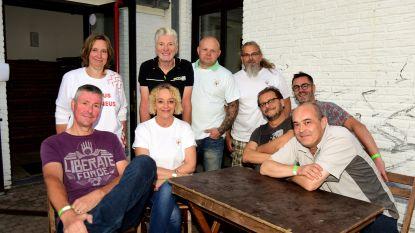 VZW Helpende Handjes organiseerde een Rode Neuzen Dag in het Baljuwhuis
