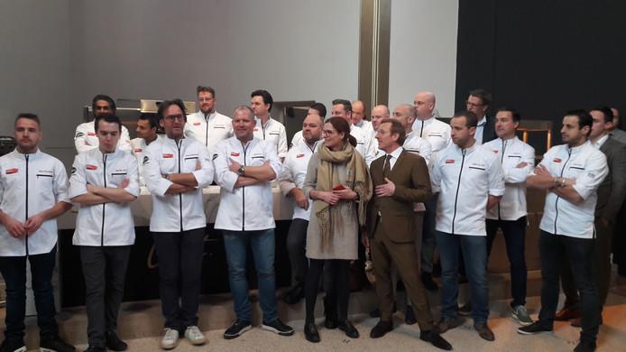 De chefkoks die hun kunsten gaan vertonen in het pop-uprestaurant