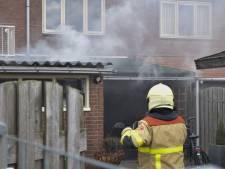 Brand in aanbouw woning in Doetinchem