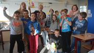 Steffi wint kleurwedstrijd 'Flo en Floerke'