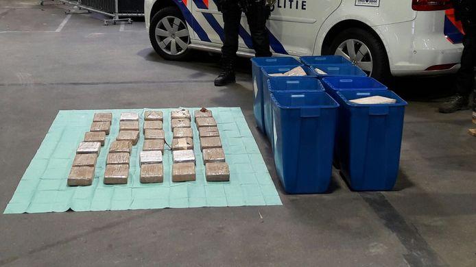 Drugs in Den Hoorn.