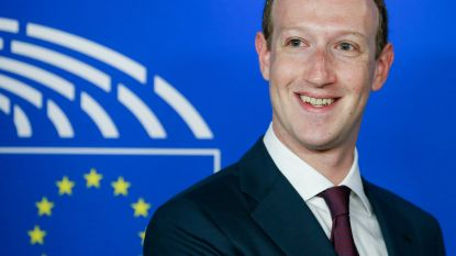 Zuckerberg draait rond de pot in Brussel