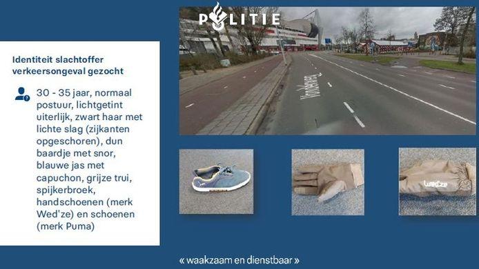 Het signalement van het slachtoffer dat zwaargewond raakte op de Vonderweg in Eindhoven.