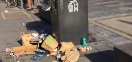 """Antwerpse winkelstraten lijken wel een stort: """"Pak het afval van je picknick mee naar huis"""""""