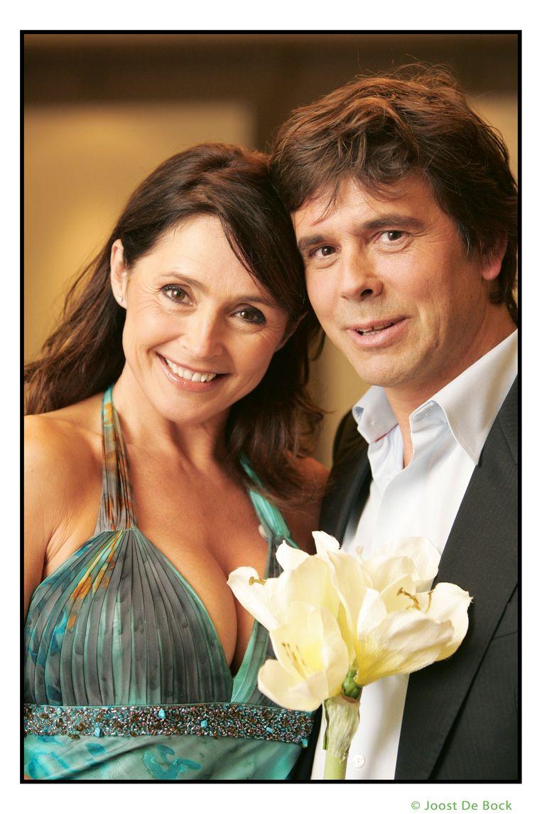 Wendy en Frans tijdens een foto shoot na het programma.
