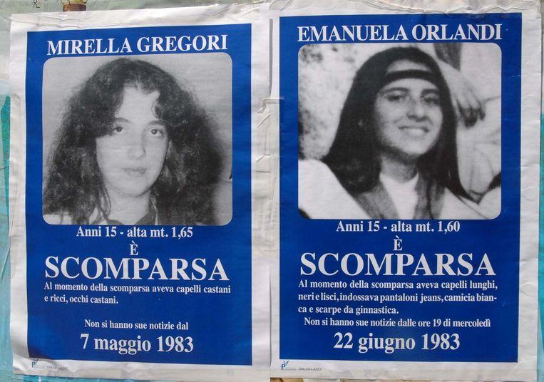Gregori en Orlandi waren even oud en verdwenen rond dezelfde periode in Rome.