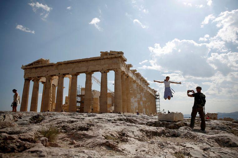 De Acropolis in Athene.