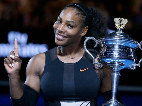 Serena Williams zwanger én nummer 1 van de wereld
