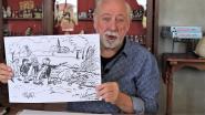 Bruegel-tekening van Urbanus brengt 2.800 euro op voor assistentiehonden in Merelbeke
