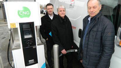 Eerste gastankstation voor wagens in Groendreef