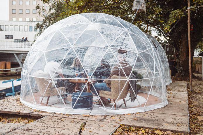 Na de HerfstBAAI komt dit jaar WinterBAAI, met net als vorig jaar knusse iglo's voor de bezoekers.