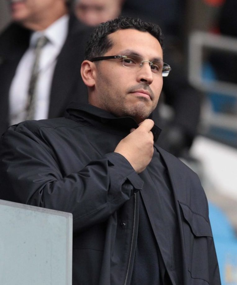 Manchester City-voorzitter Khaldoon Al Mubarak. Beeld ANP