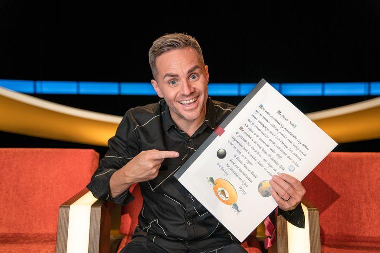 Peter Van de Veire kroonde zich gisteren tot 'Slimste Mens ter Wereld'