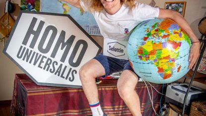 """West-Vlaming Selattin (18) mag zich jaar lang 'Homo Universalis' noemen (en gratis reizen): """"Eén dag jonger en ik had niet eens mogen meedoen"""""""