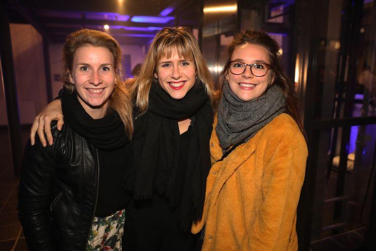 Hanne uit 'Familie' bracht haar vriendinnen mee.