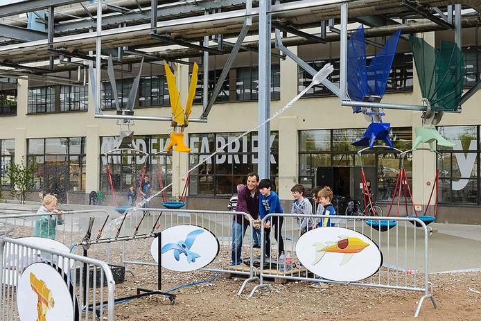 Raketwedstrijd bij Ontdekfabriek