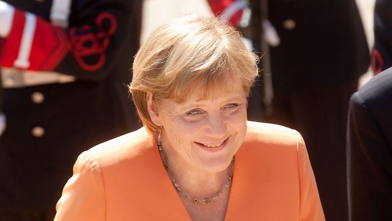 Angela Merkel Beeld getty