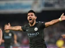 Aguëro nieuwe clubtopscorer Manchester City