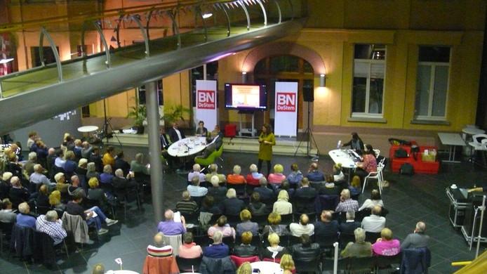 Het binnenstadsdebat over Roosendaal en Bergen op Zoom in Parrotia is begonnen