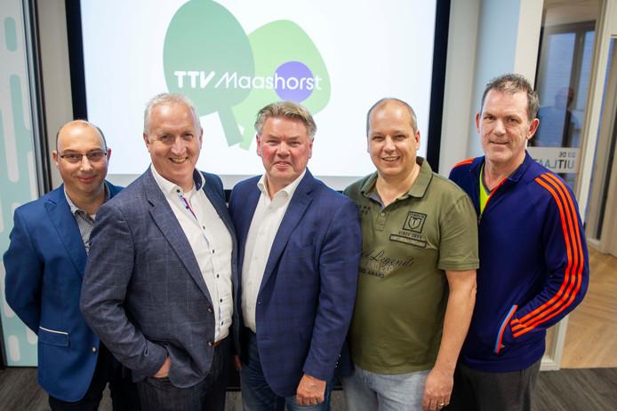 TTV Maashorst, voor het nieuwe logo, barst van ambitie.
