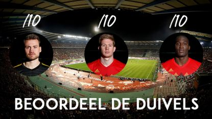 Eén Rode Duivel die een dramatische 3 op 10 krijgt en twee uitblinkers: onze punten na België - Japan (en ook jij kan hier alle spelers een punt op tien geven)
