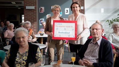 Vaarwel wzc Sint-Elisabeth, hallo 'Bosbeekhof'