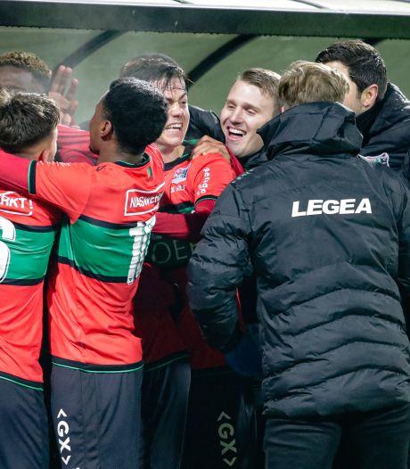 Revanche NEC met remontada tegen Excelsior: 3-2 zege na 0-2 ruststand