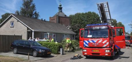 Brand in bungalow in Maren-Kessel, één slachtoffer gewond naar ziekenhuis