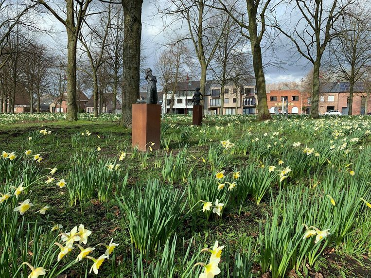 De openlucht beeldententoonstelling op de Dries in Opdorp loopt tot 14 april.