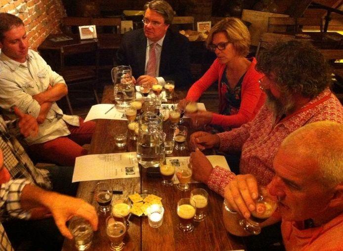 De jury van Brabants Lekkerste Bier.