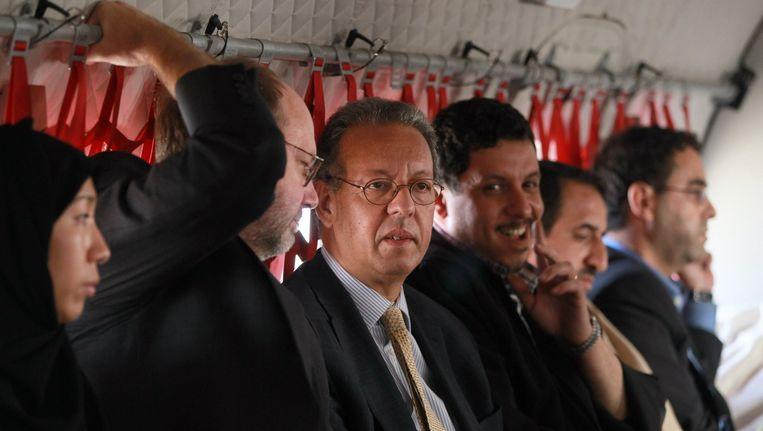 De gezant van de Verenigde Naties, Jamal Benomar. Beeld afp