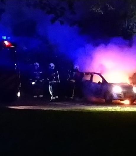 Het blijft onrustig in Gouda, opnieuw auto uitgebrand