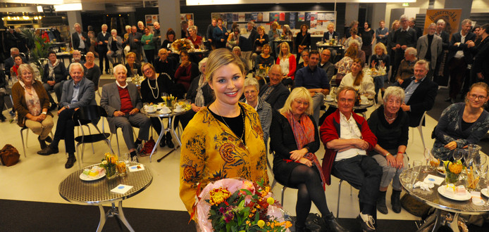 Franca Treur won vorig jaar de Zeeuwse Boekenprijs.