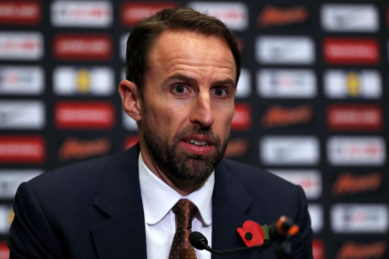 Soccer Football - England - Gareth Southgate Press Conference - Wembley Stadium, London, Britain - November 2, 2017   England manager Gareth Southgate during the press conference   Action Images via Reuters/Paul Childs © PHOTO NEWS / PICTURE NOT INCLUDED IN THE CONTRACTS  ! only BELGIUM !