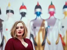 Adele is touren helemaal zat
