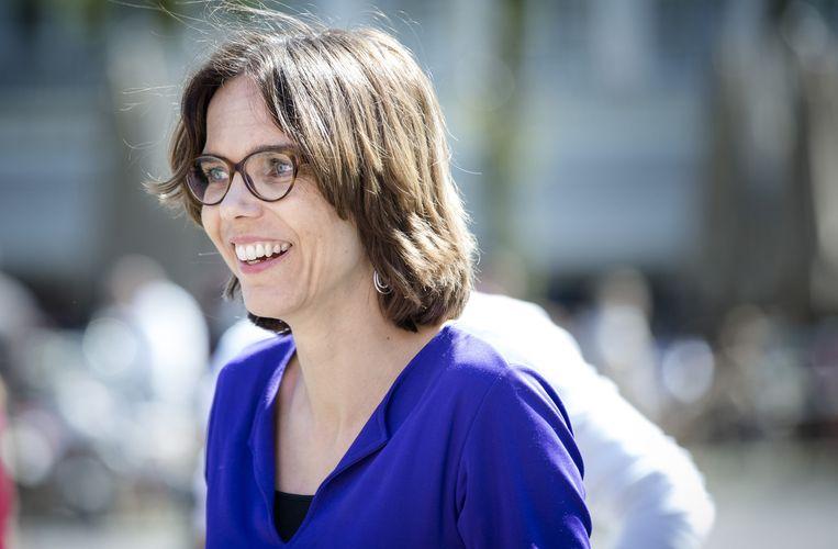 ChristenUnie-Kamerlid Carla Dik-Faber werd vandaag verkozen tot Groenste Politicus van 2017. Ze deelt de titel met D66-Europarlementariër Gerben-Jan Gerbrandy. Beeld anp