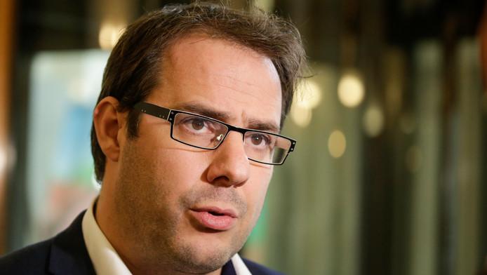 David Clarinval, chef de groupe MR à la Chambre.