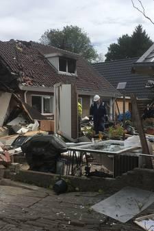 Explosie woning Vaassen was in wijde omtrek te horen: schade enorm